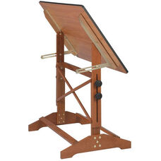 Pavillion Art and Drawing Table Cherry Melamine Top - 36