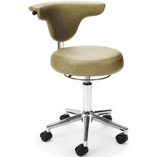 Elements Anatomy Anti-Microbial and Anti-Bacterial Vinyl Chair - Capreni Sage