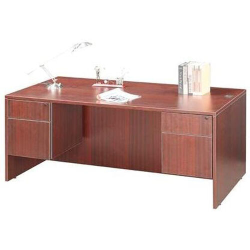 Our Cherry Double Pedestal Desk is on sale now.