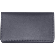 Business Card Case - Top Grain Nappa Leather - Blue