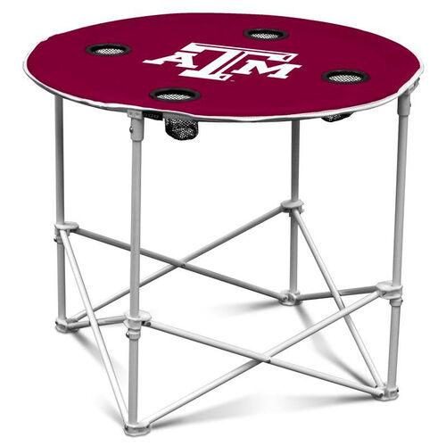Our Texas A&M University Team Logo Round Folding Table is on sale now.