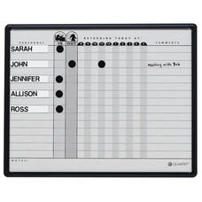 Quartet Magnetic In/Out Board - 36 Name Capacity - 24