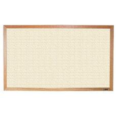 700 Series Tackboard with Wood Frame - Fabricork - 96