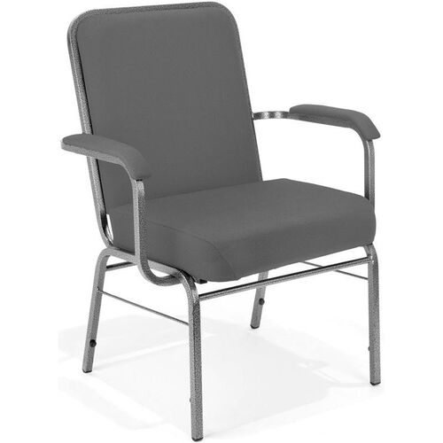 Our Comfort Class Big & Tall 500 lb. Capacity Stack Chair with Arms is on sale now.