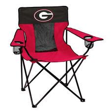 University of Georgia Team Logo Elite Folding Chair