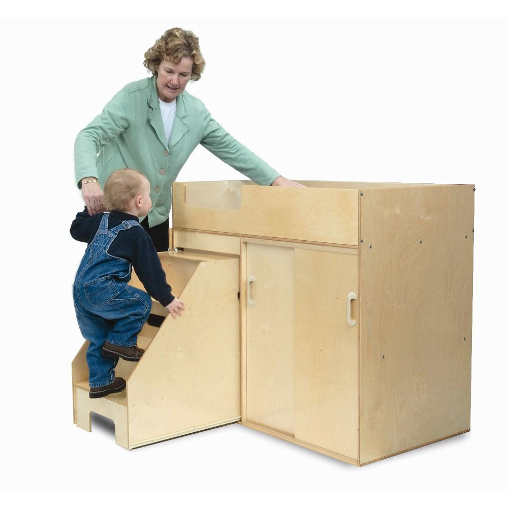 Exceptionnel Our Step Up Toddler Changing Cabinet With Pull Out Stairs Is On Sale Now.
