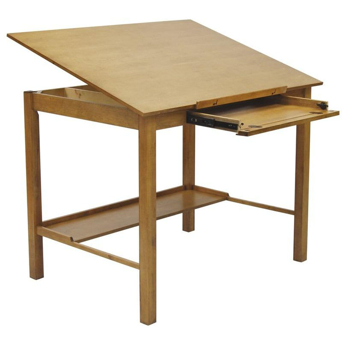 Americana II 48''W x 36''D Wood Drafting Table with ...