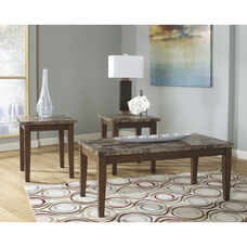 Signature Design by Ashley Theo 3 Piece Occasional Table Set