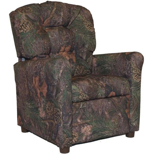 Our Kids Recliner with Button Tufted Back - Mixed Pine is on sale now.