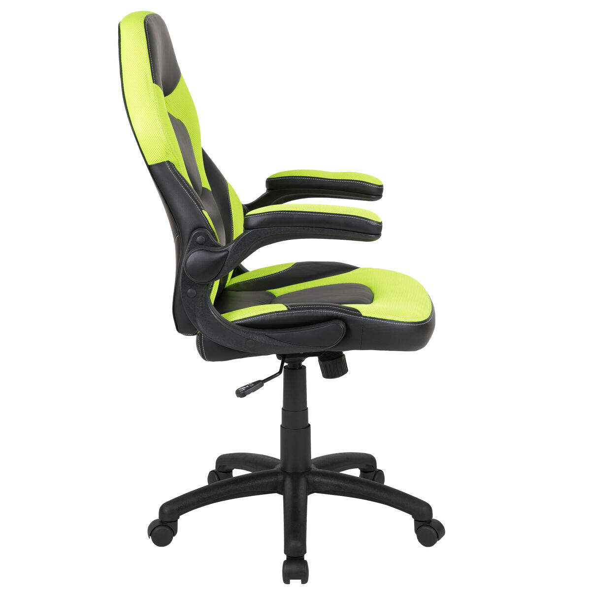 Fabulous X10 Gaming Chair Racing Office Ergonomic Computer Pc Adjustable Swivel Chair With Flip Up Arms Neon Green Black Leathersoft Ocoug Best Dining Table And Chair Ideas Images Ocougorg