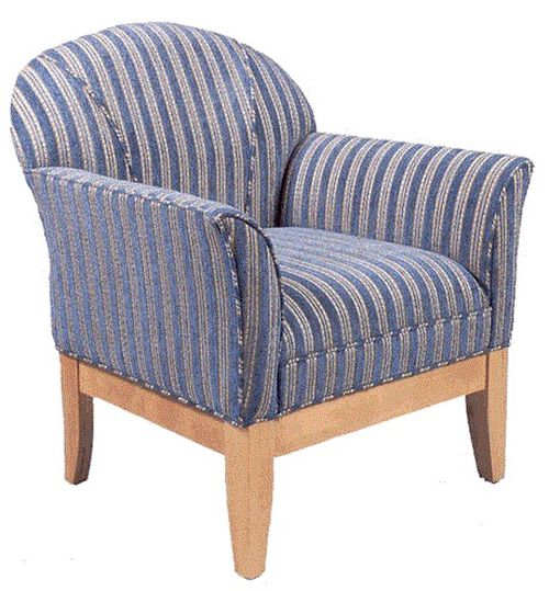 Our 9420 Upholstered Lounge Chair w/ Wood Base - Grade 1 is on sale now.