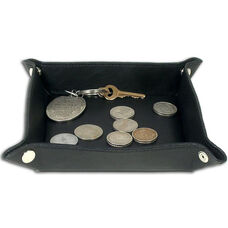 Classic Leather Travel Caddy - Black