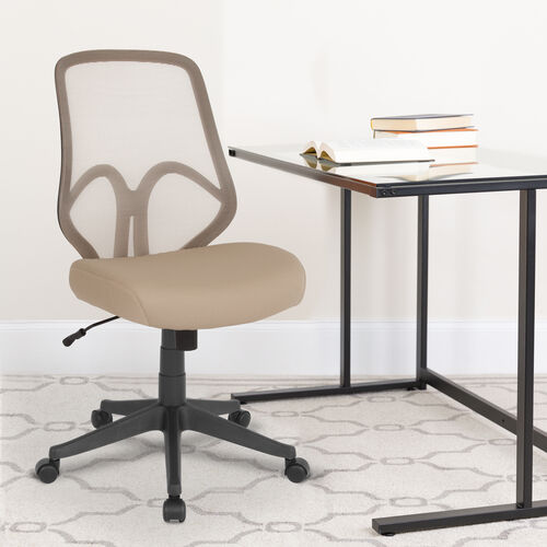 Our Salerno Series High Back Light Brown Mesh Office Chair is on sale now.
