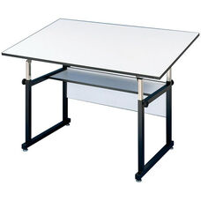 Black WorkMaster Drawing Table - 37.5