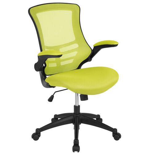 Our Mid-Back Green Mesh Swivel Ergonomic Task Office Chair with Flip-Up Arms is on sale now.