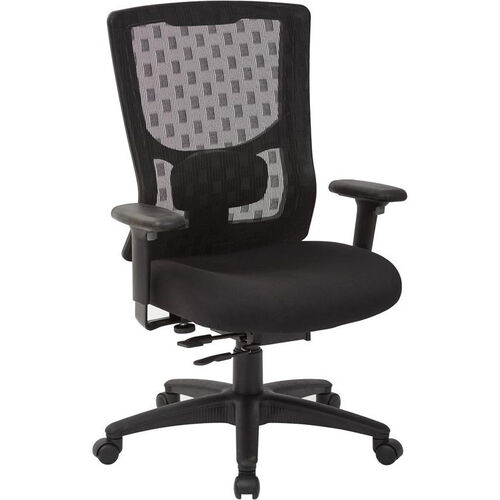 Our Pro-Line II ProGrid Checkered Mesh Back Office Chair with 2-Way Adjustable Arms - Coal is on sale now.