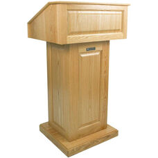 Victoria Non-Sound Lectern - Maple Finish - 26.375