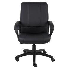 Caressoft™ Executive Mid Back Swivel - Black