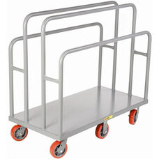 Lumber and Panel Cart with 4 Uprights - 30