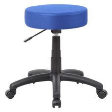 250 lb Capacity DOT Adjustable Height Mesh Stool- Blue