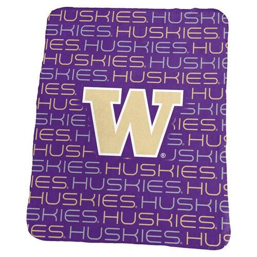 University of Washington Team Logo Classic Fleece Throw
