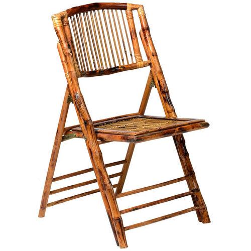 Bamboo Folding Chair Bo 100 Sb Bizchair Com