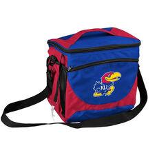University of Kansas Team Logo 24 Can Cooler