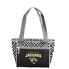 Jacksonville Jaguars Team Logo Double Diamond 16 Can Cooler