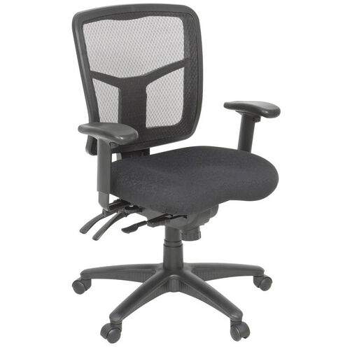 Our Kiera Fully Adjustable Mesh Back Swivel Chair with Casters - Black is on sale now.