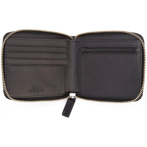 Our RFID Blocking Zip Around Wallet - Saffiano Genuine Leather - Black is on sale now.