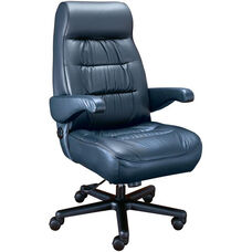 Explorer High Back Luxury Office Chair - Leather
