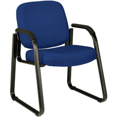Guest and Reception Chair with Arms - Navy