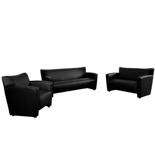 "Our HERCULES Majesty Series Reception Set in Black with <span style=""color:#0000CD;"">Free </span> Tables is on sale now."
