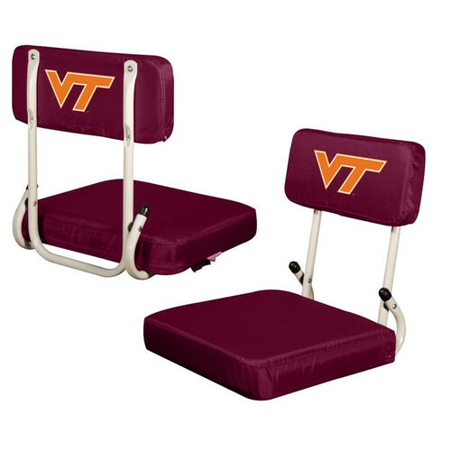 Our Virginia Tech Team Logo Hard Back Stadium Seat is on sale now.