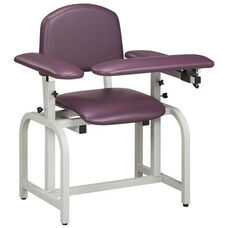 Lab X Series Blood Drawing Chair with Padded Arms