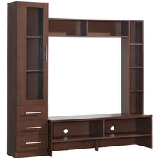 Techni Mobili Entertainment Center with Storage - Hickory
