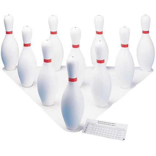 Our Plastic Bowling Pins - Set of 10 Pins is on sale now.