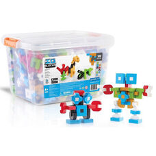 IO Blocks Education Set with Free IO Build App for Smartphone or Tablet - 500 Piece Set