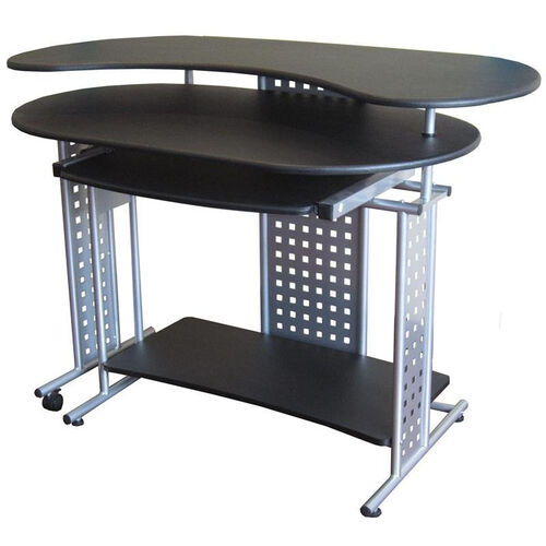 Our Regallo Expandable L Computer Desk Black Is On Sale Now
