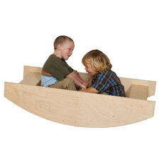 Rock-A-Boat Physical and Balance Development Rocking Rowboat - Assembled - 47