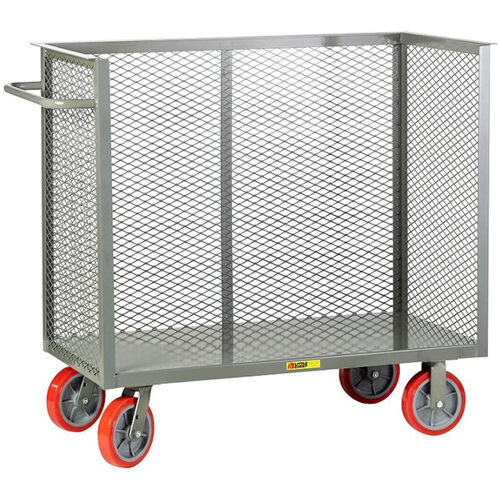 Our Steel Frame Bulk Truck with 3 Enclosed Perforated Sides - 30