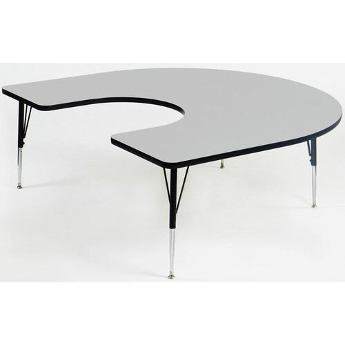 Our Quick Ship EconoLine Horseshoe Activity Table - 60