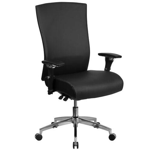 Our HERCULES Series 24/7 Intensive Use 300 lb. Rated Black Leather Multifunction Ergonomic Office Chair with Seat Slider is on sale now.
