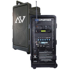 Digital Audio Travel Partner All in One 250 Watt PA with Remote Control - 11.5