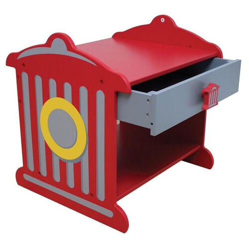 Our Firefighter Series Wooden Fire Hydrant Shaped Toddler Side Table is on sale now.