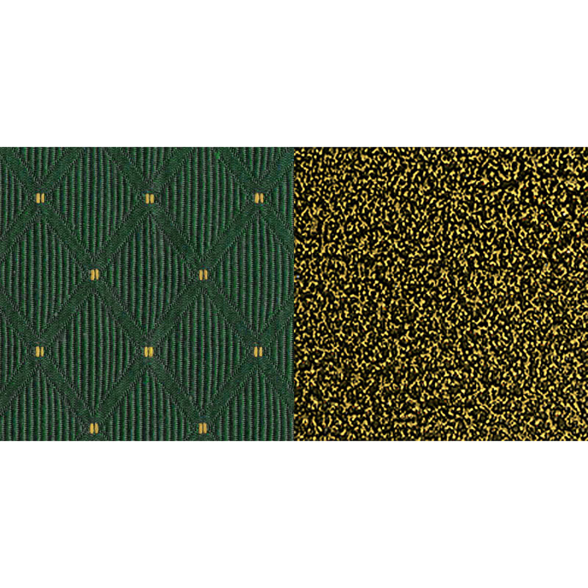 Green Dot Fabric Church Chair Fd Ch0221 4 Gv S0808 Bas Emb Gg