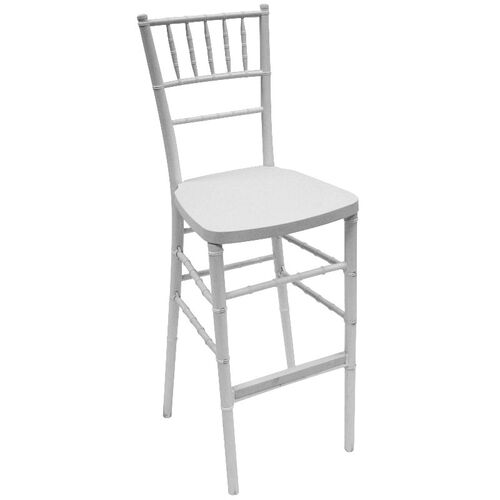 Our 1000 lb. Max White Resin Steel Core Chiavari Barstool is on sale now.