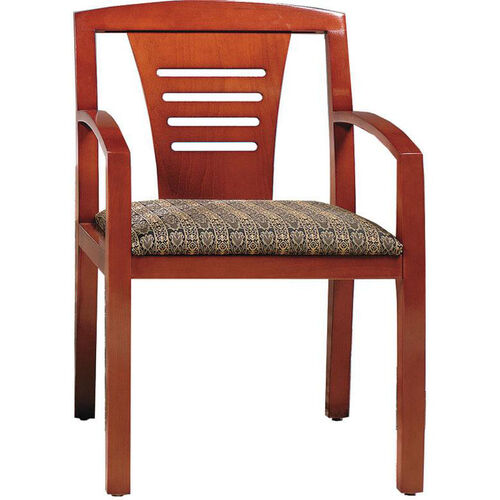 Quick Ship Contempo Ladder Back Arm Chair