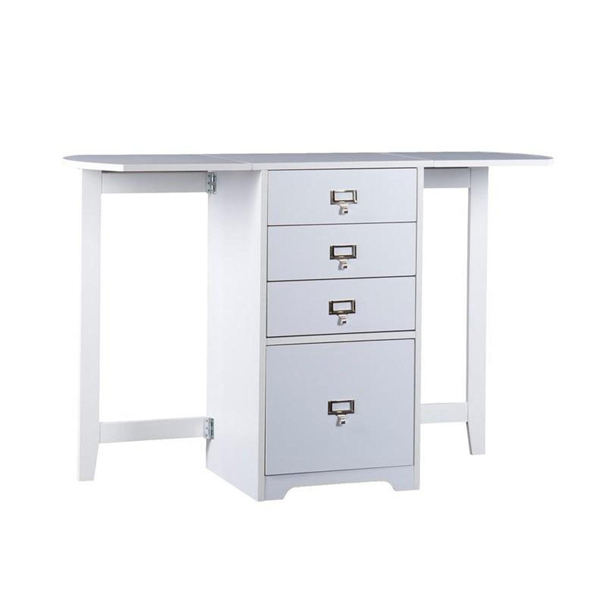Multi Function Fold Out Desk Ho9669r Bizchair Com