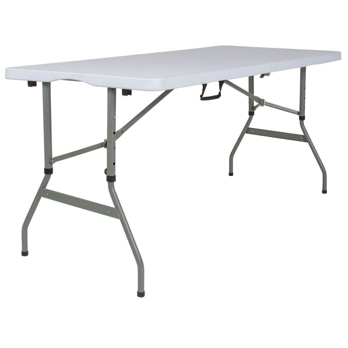 30x60 white bi fold table rb 3050fh adj gg bizchair com